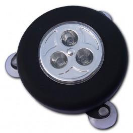 Spot solaire ventouse 3 LEDs
