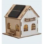 Villa Lumière, Kit solaire bois avec batterie