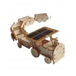 Train bois solaire HELIOBIL à construire