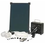 Kit solaire d'éclairage 6W
