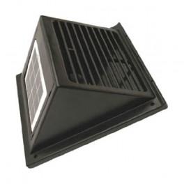 ventilateur solaire de fa ade. Black Bedroom Furniture Sets. Home Design Ideas