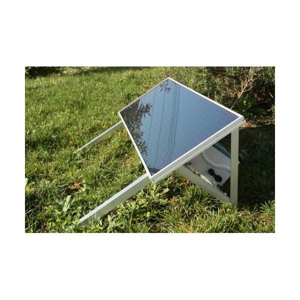 kit solaire ext rieur 15 w. Black Bedroom Furniture Sets. Home Design Ideas