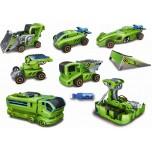 Jouet solaire hybride, kit solaire 6 en 1 BUTTERFLY , maquettes de véhicules à construire