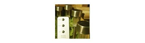 lampes solaires avec t l commande produits solaires la boutique envie solaire. Black Bedroom Furniture Sets. Home Design Ideas