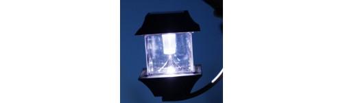 Lampe solaire suspendue