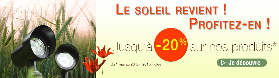 Promotions Printemps 2016