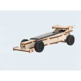 Formule 1 Solaire, jouet solaire bois avec batterie