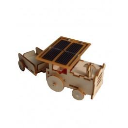 Tracteur bois solaire HELIOBIL à construire