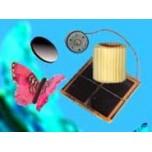 Papillon solaire volant, kit à monter