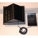 Aérateur solaire de façade 60m3 par heure nuit et jour et panneau solaire amovible