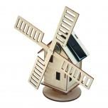 Moulin Hollandais Solaire, Kit solaire bois