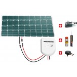 Kit solaire camping-car 100W