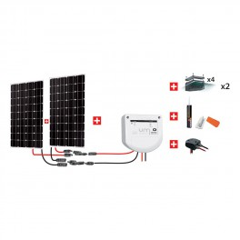 Kit solaire camping-car 200W