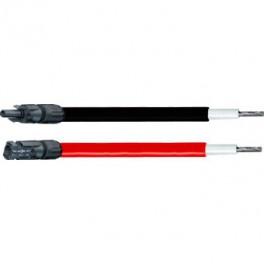 Câble solaire 6mm² - 2 x 8 m - connecteurs type MC4