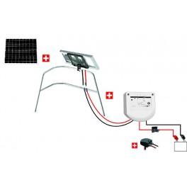 Kit solaire nautisme 20W - balcon