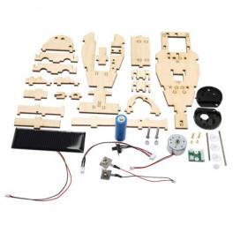 Aérateur solaire 60m3 par heure - blanc