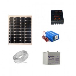 Kit solaire 30 Wc 230 Volts - 180 Watts