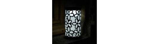 Lampe bougie solaire