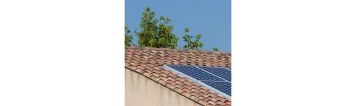 Toit solaire photovoltaique
