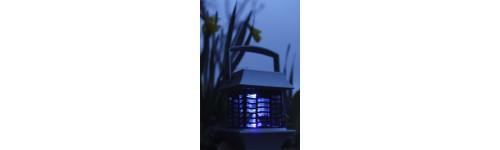 Lampe antimoustique solaire